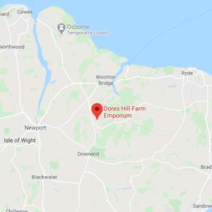 Map Location of Dores Hill Farm